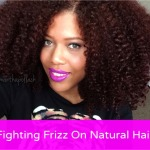 Fighting Frizz On Natural Hair