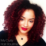 Simple EASY Curly Hair Routine
