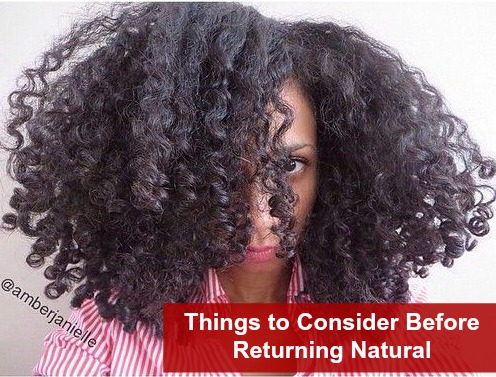 Things to Consider Before Returning to Natural