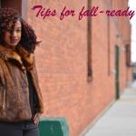 Tips for fall-ready hair