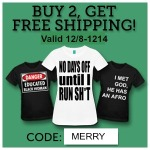 Free shipping just in time for Christmas