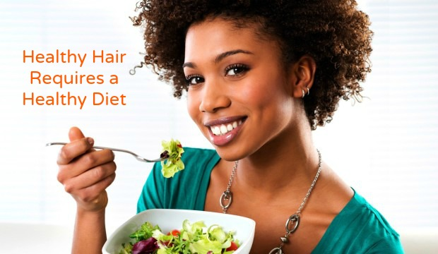 Healthy Hair Requires a Healthy Diet