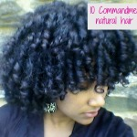 10 Commandments of natural hair care