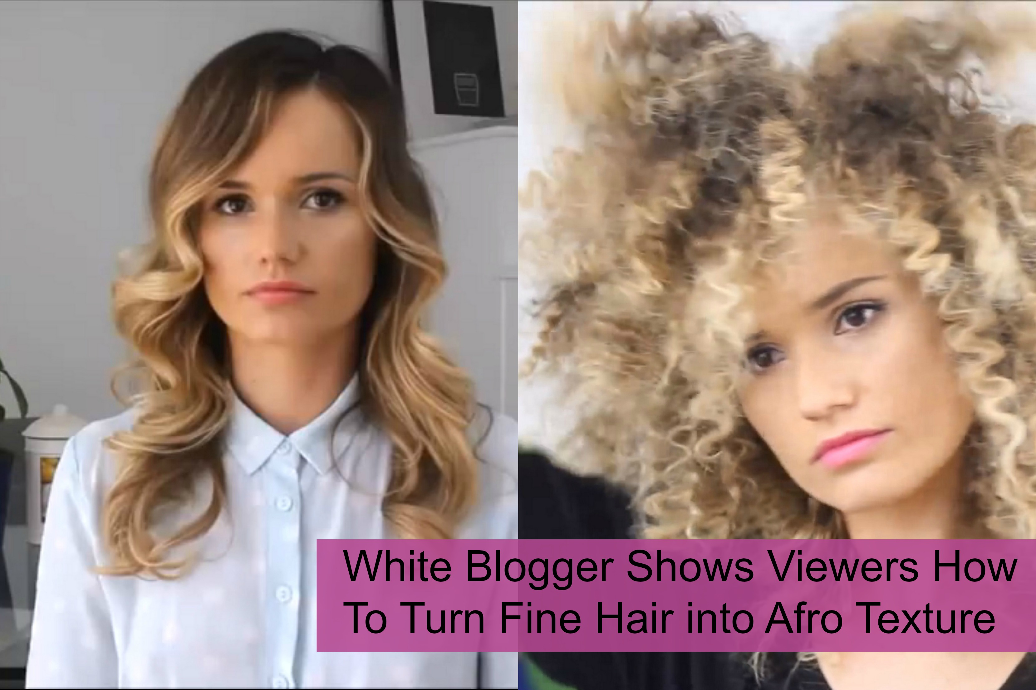 One Of The Great Features Being African Decent Is Our Hair Texture It Makes Us Unique To Different Races But What If This Feature Can Be