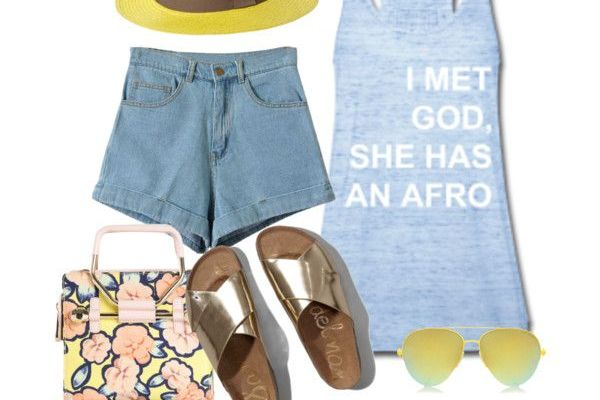 Summer Style: I met God, she has an afro