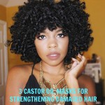 3 CASTOR OIL MASKS FOR STRENGTHENING DAMAGED HAIR